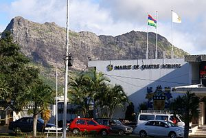 Quatre Bornes Town hall