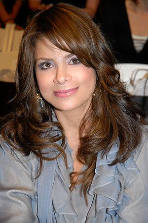 English: Paula Abdul attending L.A. Fashion We...