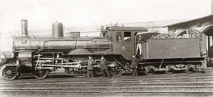 English: Prussian steam locomotive S3 Stettin ...