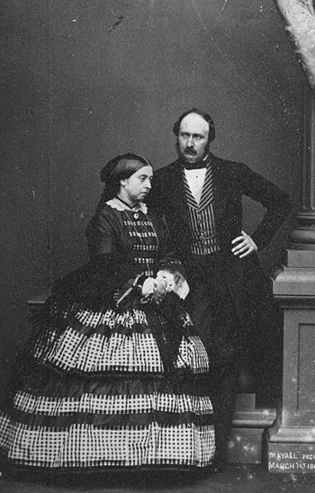 English: Queen Victoria and Prince Albert 1861