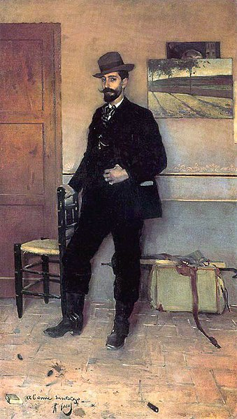 File:Ramon Casas Portrait of Santiago Rusinol.jpg