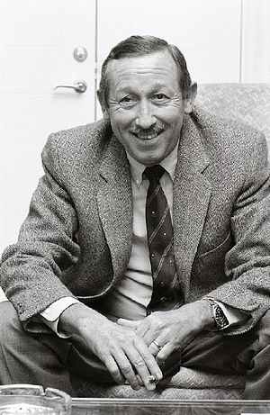 """Roy E. Disney in Sweden to promote """"The L..."""