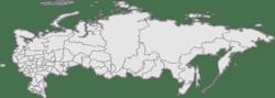 Sao băng Chelyabinsk trên bản đồ Nga