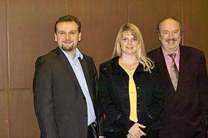 Deutsch: Bundesvorsitzenden der Allianz für Bü...