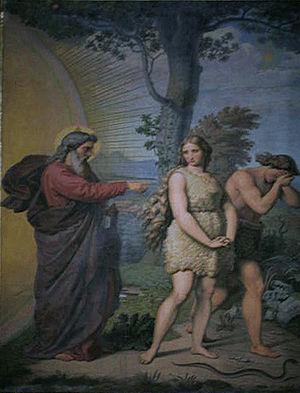 SP Dom fresco Adam and Eve