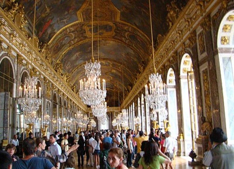Sala de los Espejos, Palcio de Versalles
