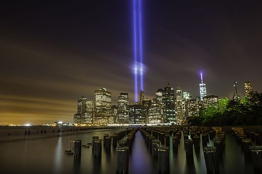 September 11th Memorial Tribute In Light 2014