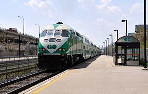 English: GO Transit diesel locomotives