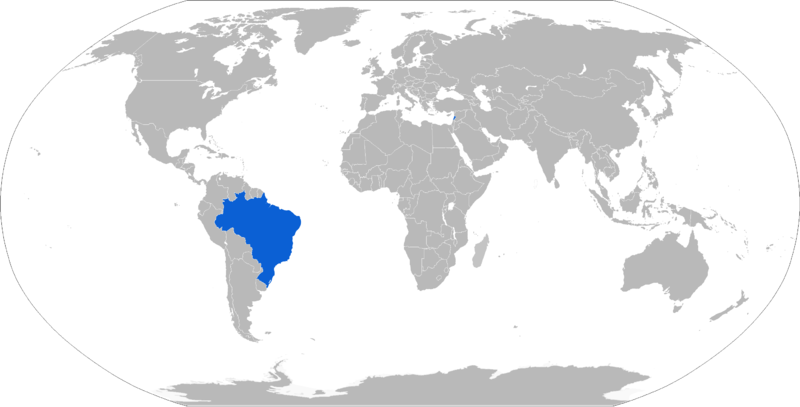 Map of VBTP-MR operators in blue