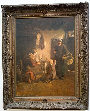 Nederlands: Moeders lieveling / Albert Neuhuys...