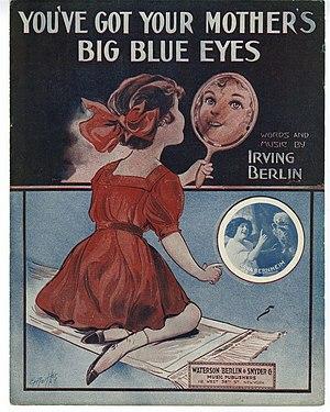 """You've Got Your Mother's Big Blue Eyes&q..."