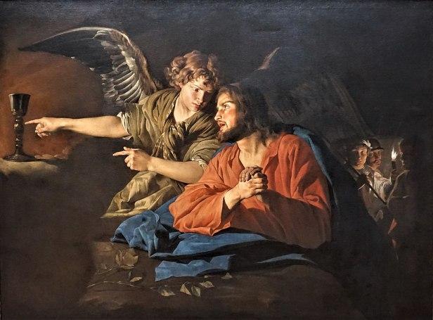 """""""Christ on the Mount of Olives"""" by Matthias Stom - Gemäldegalerie"""