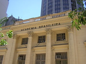 English: The Brazilian Academy of Letters (clo...