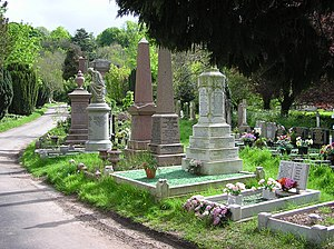 A view of part of Arno's Vale Cemetery in Bris...