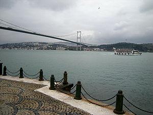 English: Bosporus Bridge from Ortaköy (İstanbu...