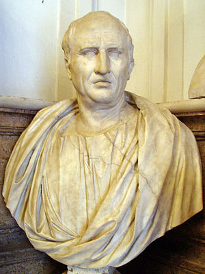 English: Bust of Cicero, Musei Capitolini, Rom...