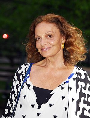 English: Diane von Fürstenberg at the Vanity F...