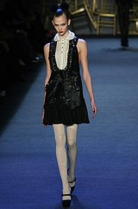 Karlie Kloss   Wikipedia Kloss on the runway for Zac Posen  fall 2008 in New York Fashion Week