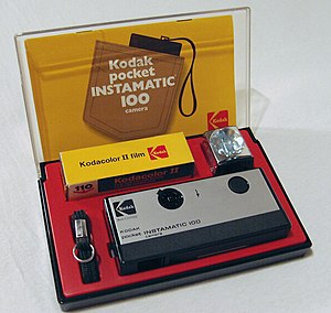 Kodak Pocket Instamatic 100, First camera for ...