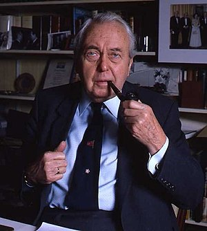 English: Lord Harold Wilson portrait