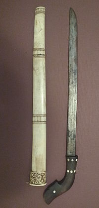 A luwuk sword from Central Java.