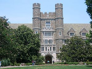 Entrance to the Medical Center at Duke University