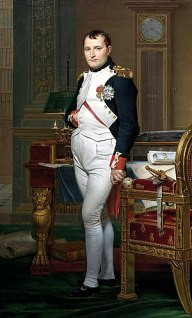 The Emperor Napoleon in His Study at the Tuile...