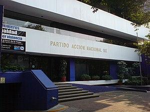 English: Partido de Acción Nacional, D.F., off...