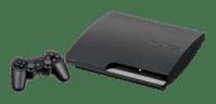 "English: The 120GB PS3 ""Slim"" model...."