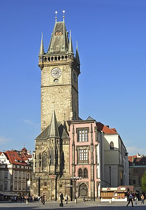 Town Hall, Old Town Square, Prague, Czech Republic