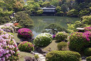 """Sorakuen"" in Kobe, Hyogo prefecture..."