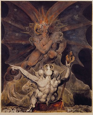 The number of the beast is 666 by William Blake.