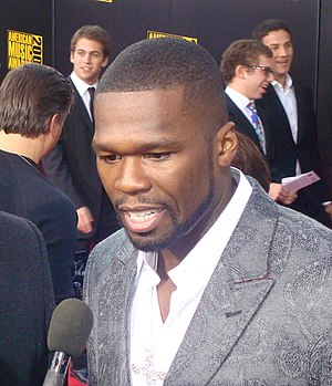50 Cent at the 2009 American Music Awards Red ...