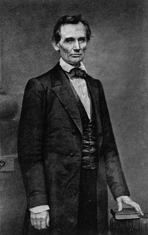 Abraham Lincoln - Photo taken in Feb. 1860 by ...