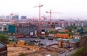 Remodelación de Berl�n, tras la reunificación.