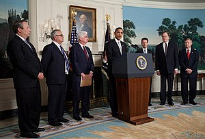 President Barack Obama addresses reporters abo...