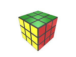 English: Rubik's cube Italiano: Cubo di Rubik