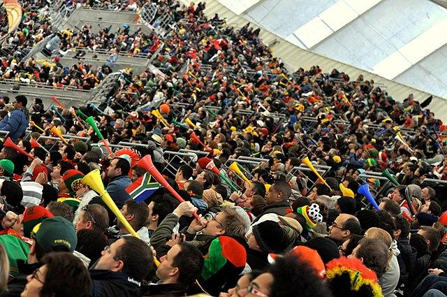 arenas, acústica, vuvuzela, fifa, ruído em estádio, copa 2010