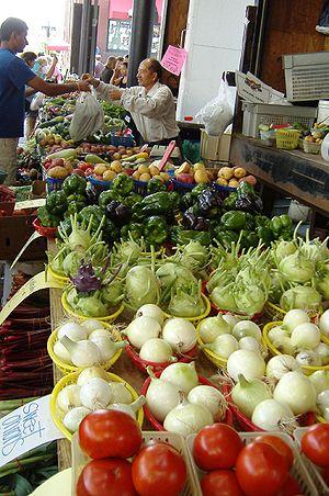 Farmers market, Saint Paul, Minnesota