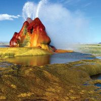 Colors of Nature: Fly Geyser, USA