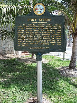 Fort Myers FL marker01