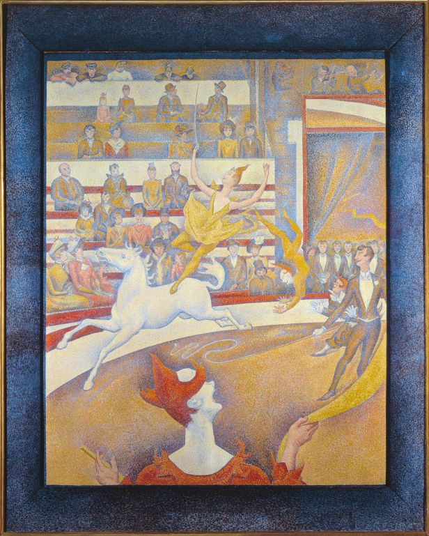 """The Circus"" by Georges Seurat"