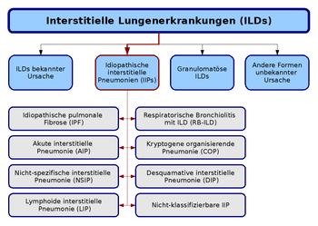 Interstitielle Lungenerkrankungen (ILDs), ??bersicht