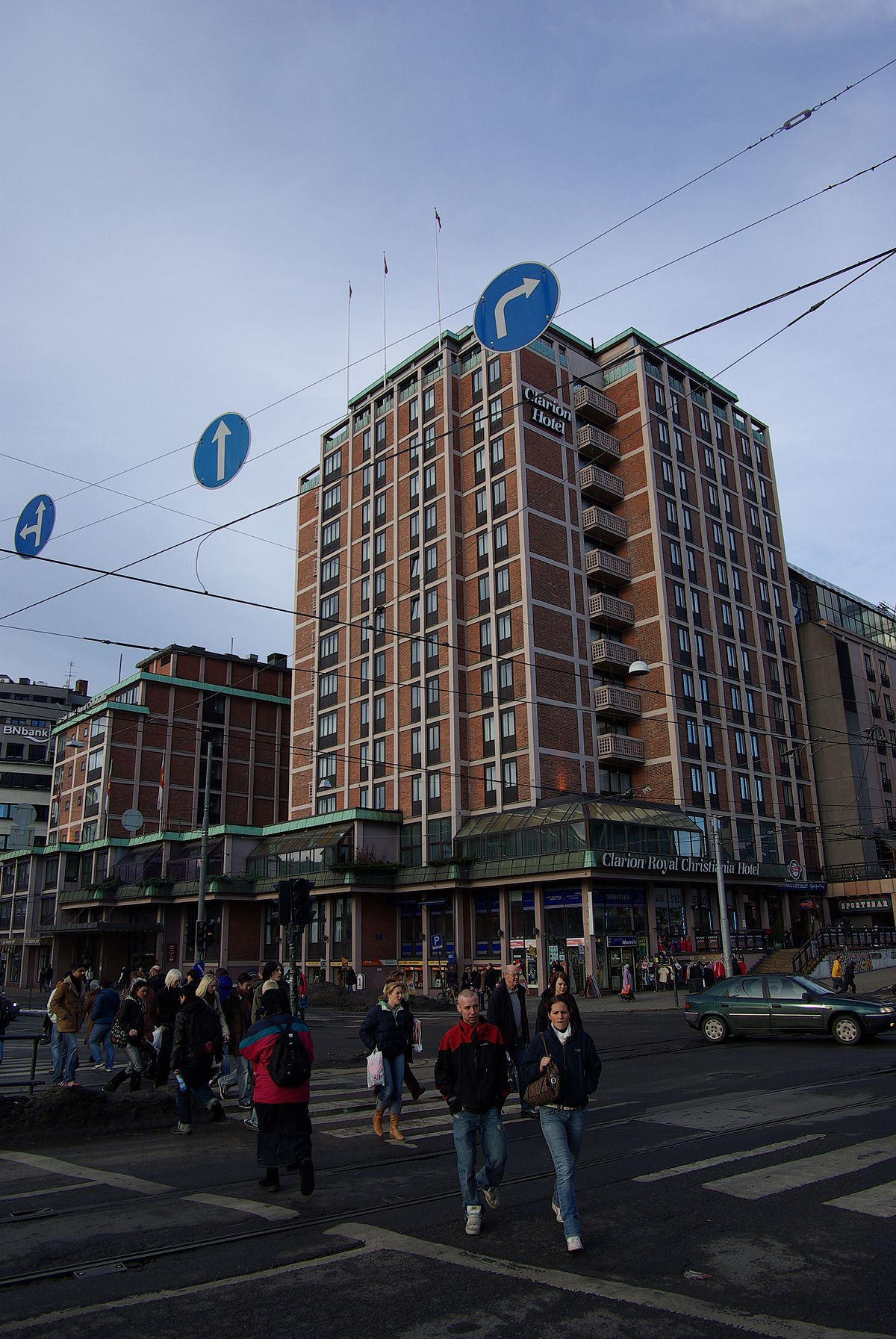 Clarion Hotel The Hub Oslo Wikipedia