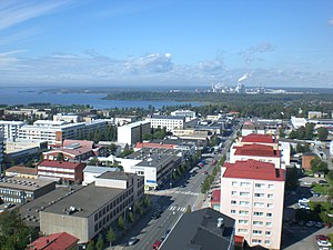 English: City centre of Kemi, Finland Suomi: K...
