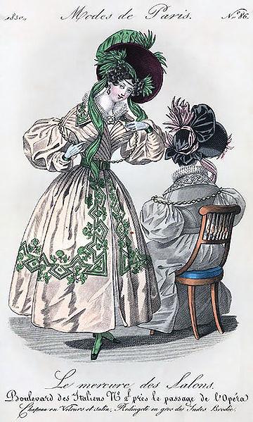 Istorija odevnih predmeta - Page 7 360px-Mercure_des_salons_1830-enh