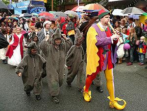 Deutsch: Rattenfängerauszug Hameln Tag der Nie...