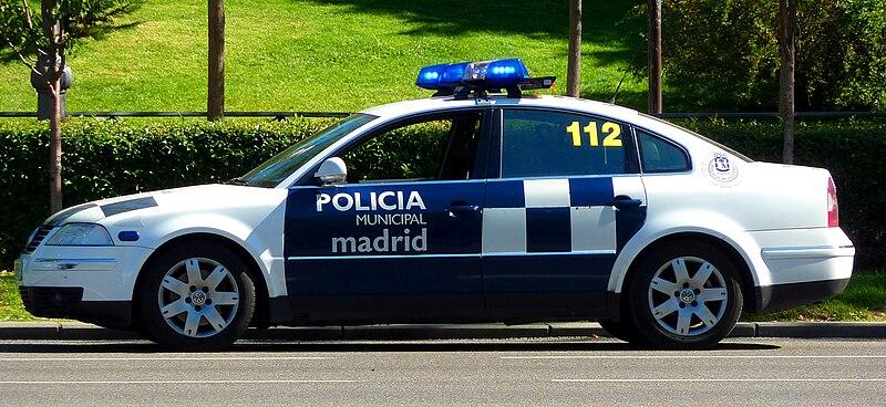 Automóvil Patrulla de la Policía Municipal de Madrid
