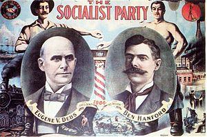 Debs Poster USA 1904