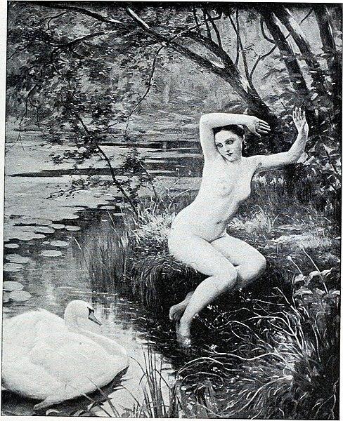 File:Albert Aublet Jeune fille effrayee par un cygne.jpg